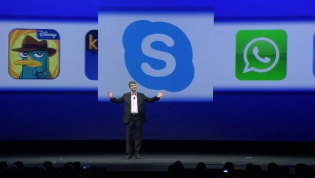 BlackBerry 10.1 con Skype