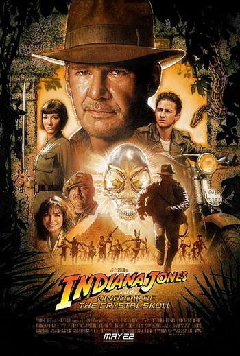Nuevo póster de 'Indiana Jones y el Reino de la Calavera de Cristal'