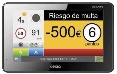 Vexia le pone cifras a los excesos de velocidad