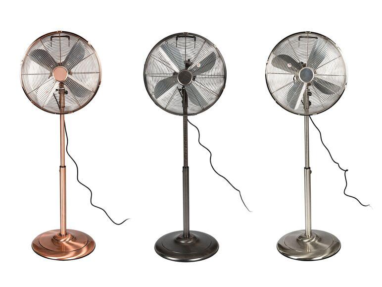 Ventilador de pie metálico