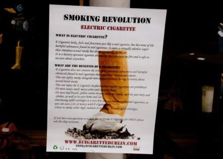 Prohibición del cigarrillo electrónico como medida para cuidar la salud