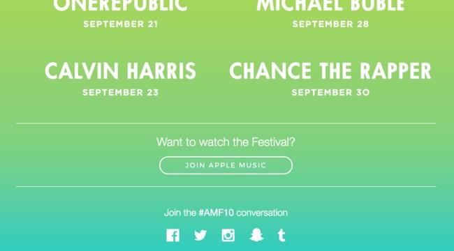650 1200 Apple Music te ofrecerá los conciertos de su festival… si eres suscriptor
