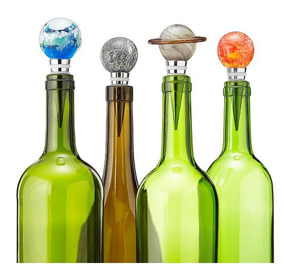 Tapones de botella planetarios