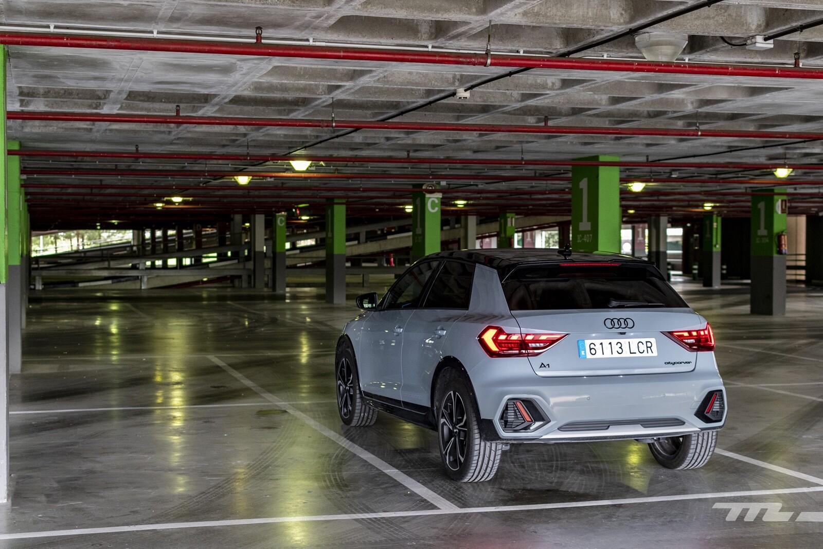 Foto de Audi A1 Citycarver 2020 prueba (28/39)