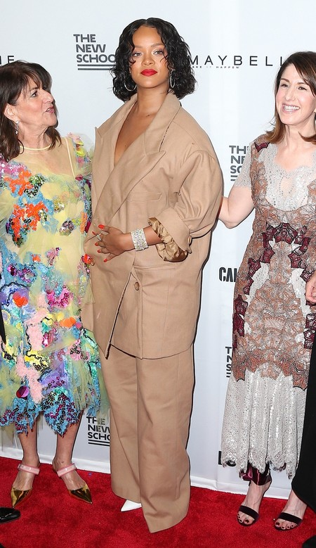 rihanna annual benefit parsons look estilismo outfit