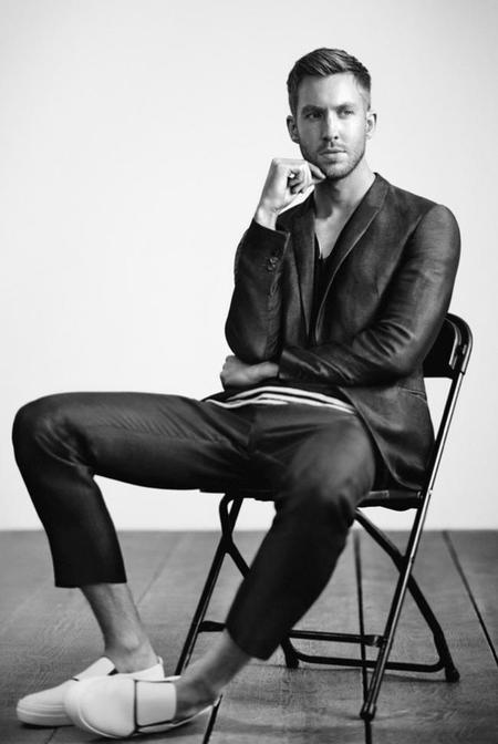 Calvin Harris Emporio Armani Spring Summer 2015 Advertising Campaign Shoot 002