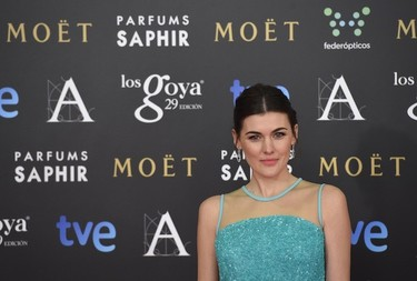Marta Nieto, simplicidad y buen gusto en los Premios Goya 2015
