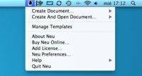 Neu, crea nuevos documentos sin depender de una aplicación para ello