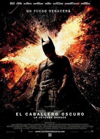 El cartel final de El Caballero Oscuro: La Leyenda Renace