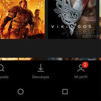 Así es la nueva interfaz de Netflix para Android: adiós a la barra de navegación lateral