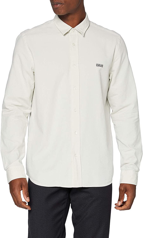 HUGO Evart Camisa para Hombre de manga larga