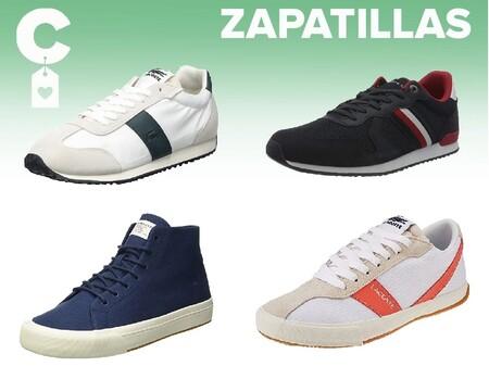 Chollos en tallas sueltas de zapatillas Tommy Hilfiger, Lacoste o Levi's por menos de 40 euros en Amazon