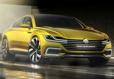 Volkswagen Sport Coupe Gte Concept 6