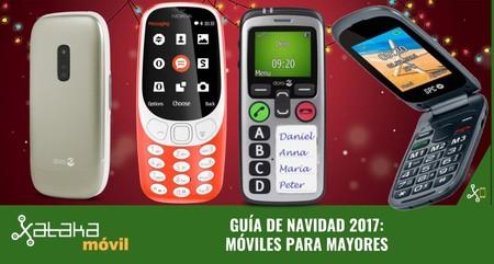 Guía de compras de Navidad: móviles para mayores