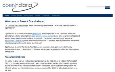 OpenSolaris sigue vivo con OpenIndiana