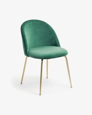 silla patas doradas