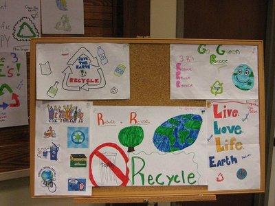 Explicar a los niños cómo participar en las tareas de reciclaje de residuos