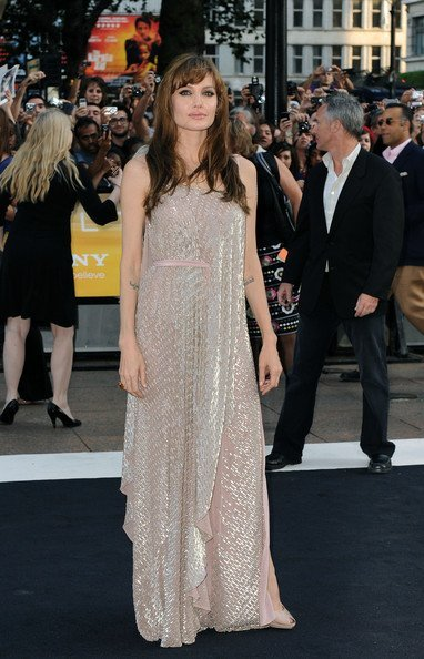 Angelina Jolie premiere Salt