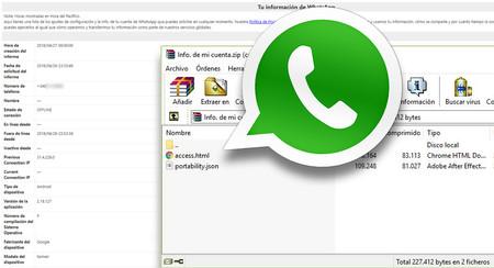 WhatsApp: ésta es toda la información que encontrarás al solicitar el informe de tus datos