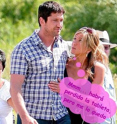 Jennifer Aniston acosa a Gerard Butler