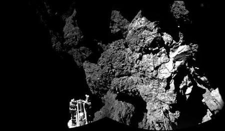 La sonda Philae aguanta 60 horas activa sobre la superficie del cometa 67P