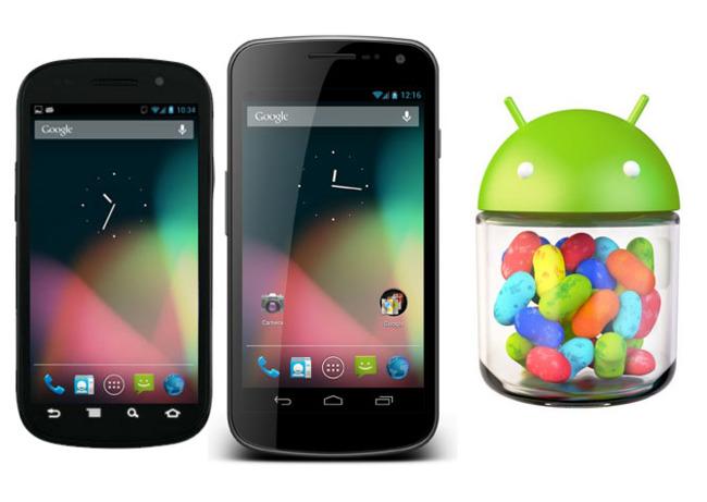 Nexus S y Galaxy Nexus