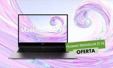En las Rebajas de El Corte Inglés, el ligero Huawei MateBook D 14 con procesador i5 te sale 100 euros más barato por 699 euros