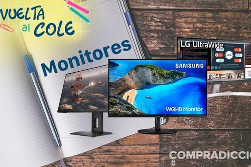 Vuelta al cole 2021: ahorra en tu próximo monitor de PC con estas ofertas en Amazon, MediaMarkt, PcComponentes y El Corte Inglés