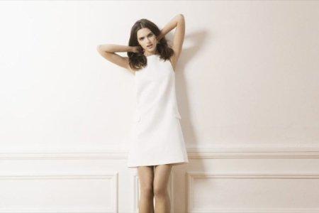 Massimo Dutti little white dress