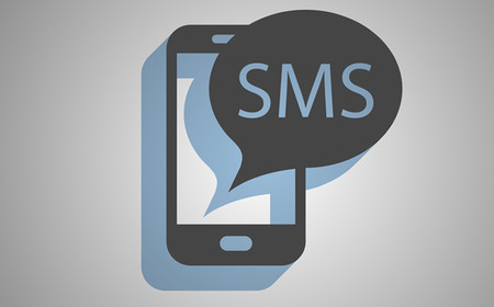 Sms Message Notification Stock Image