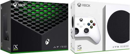 Consolas Xbox Series X y Xbox Series S en preventa