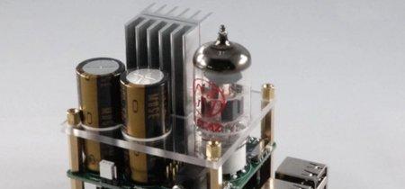 A la Raspberry Pi le faltaba un DAC con amplificador a válvulas y aquí está