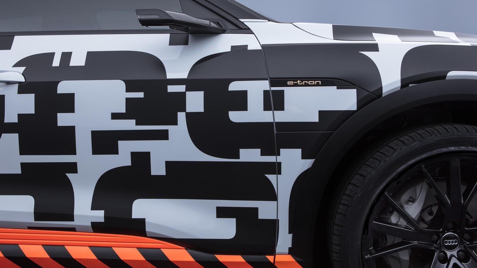 Foto de Audi e-tron prototype (4/21)