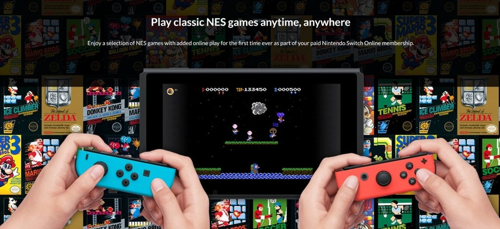Nintendo Switch Online Nes Games