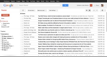 Lo que Google Reader podría haber sido