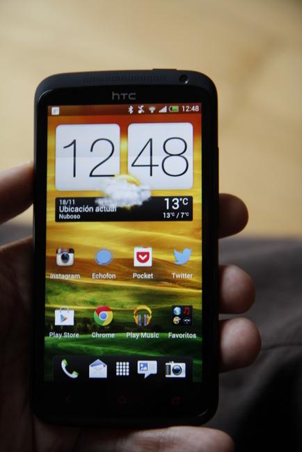 HTC One X+ frontal