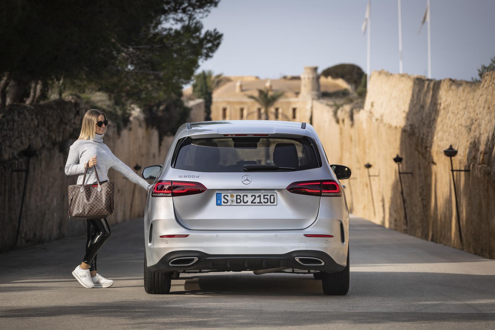 Foto de Mercedes-Benz Clase B 2019 (47/157)