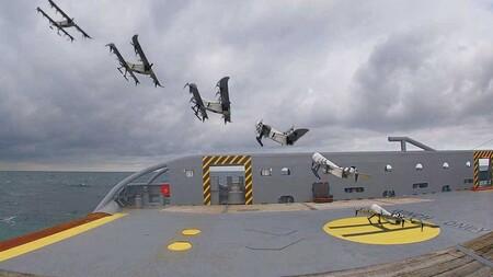 Estos drones logran aguantar 3,5 horas en el aire, y lo hacen gracias a una batería de hidrógeno