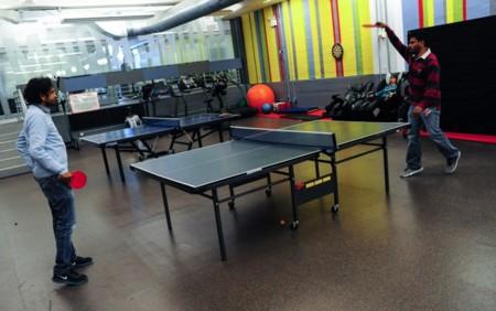 Las mesas de ping pong son el último y sorprendente indicio de una potencial burbuja tecnológica