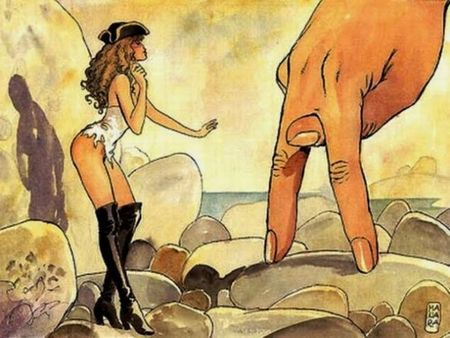 'Enciclopedia erótica del cómic', de Luis Gasca y Román Gubern