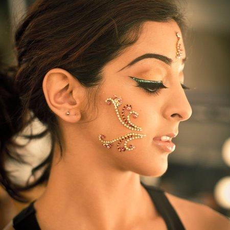 MAC en el backstage del Festival de Cine de la India
