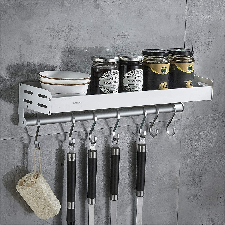 Organizador de pared para utensilios y tarros
