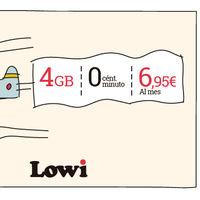 Lowi mejora su tarifa más barata con 1 GB adicional sin coste