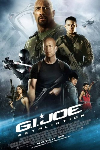 El cartel definitivo de G.I. Joe: La Venganza