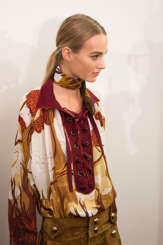 Gucci Backstage Spring Summer 2015 Mfw5