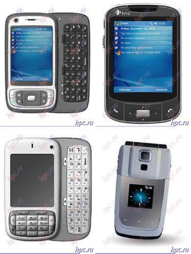 Nuevos HTC para 2007