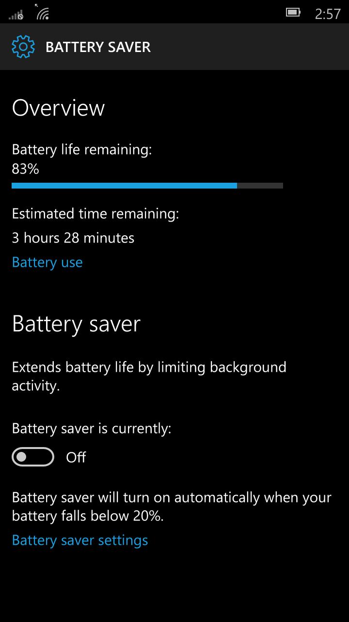 Foto de Windows 10 Mobile build 10136 (13/92)