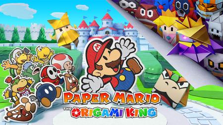 """Jugamos 'Paper Mario The Origami King': cuando otros piensan en 4K, Nintendo nos deslumbra con simple """"papel"""""""