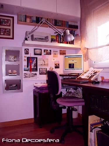 Foto de Hazlo tú mismo: un escritorio con una encimera de cocina (3/14)