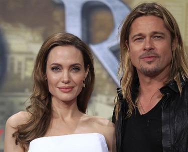 Angelina Jolie ¿en blanco o en negro? ¿vestido o traje? Siempre perfecta